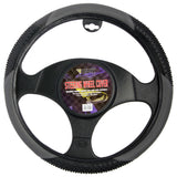 BDK Massage Grip Steering Wheel Cover (Gray)