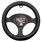 BDK Memory Foam Steering Wheel Cover (Black)