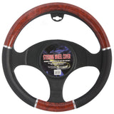 BDK Woodgrain Steering Wheel Cover