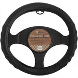 "BDK ""Eco-Tech"" 100% Odorless Steering Wheel Covers (Black)"