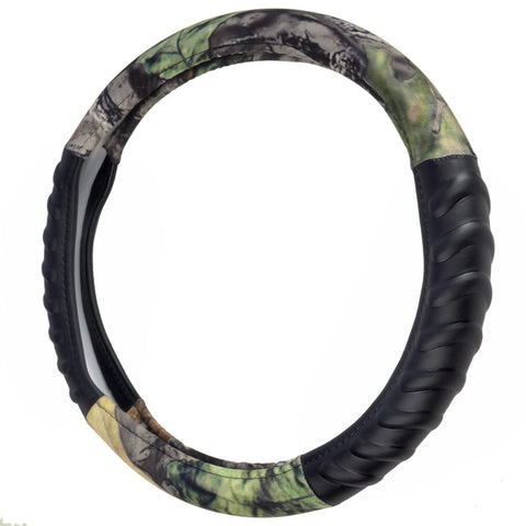 Timber Camo Forest Steering Wheel Cover