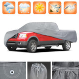 "Motor Trend ""Auto Armor"" Outdoor Truck Cover All Weather Protection Waterproof 3 Layers (7 Size)"