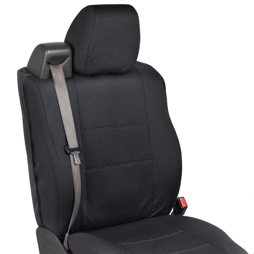 Black Ford F 150 2004 2008 Polycustom Cloth Seat Covers
