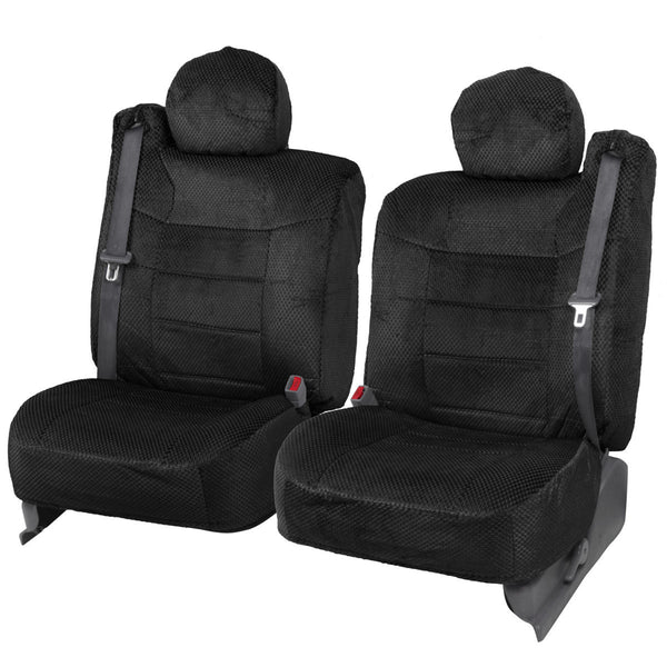 Scottsdale Cloth Front Seat Covers for 99-2010 Ford F150 Truck & SUV (3 Color)