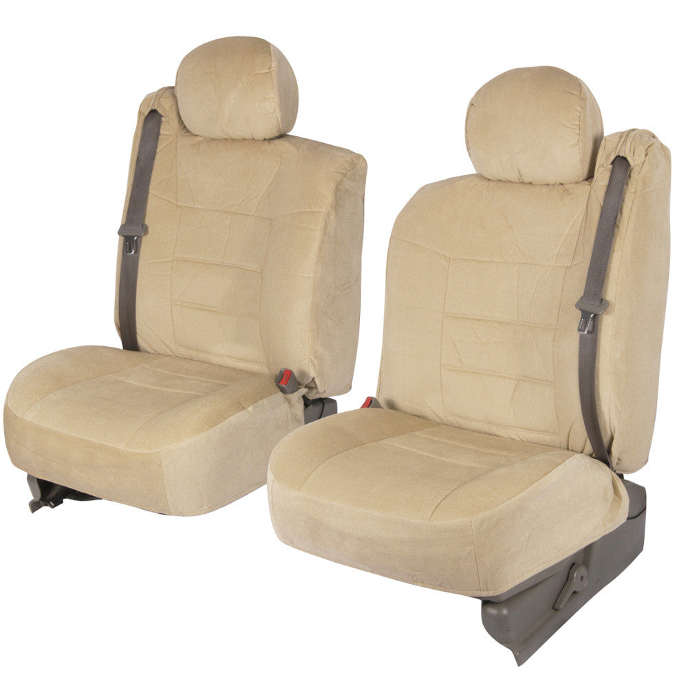 Encore Luxury Cloth Fabric Front Seat Covers For Pickup
