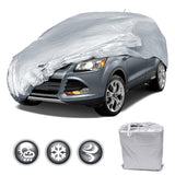 Motor Trend All Season WeatherWear 1-Poly Layer Snow Proof, Water Resistant Van / SUV Cover Size L - Fits up to 185""