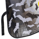 "Batman Auto Sun Shade - Reflective Backing - Classic Black on Yellow Logo - 58"" x 28"""