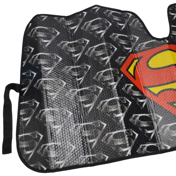 "Weathertech Floor Mats Best Price >> Superman 58"" x 28"" Front Windshield Sun Protector Sunshade"