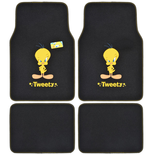 Tweety Bird Universal Carpet Cartoon Floor Mats