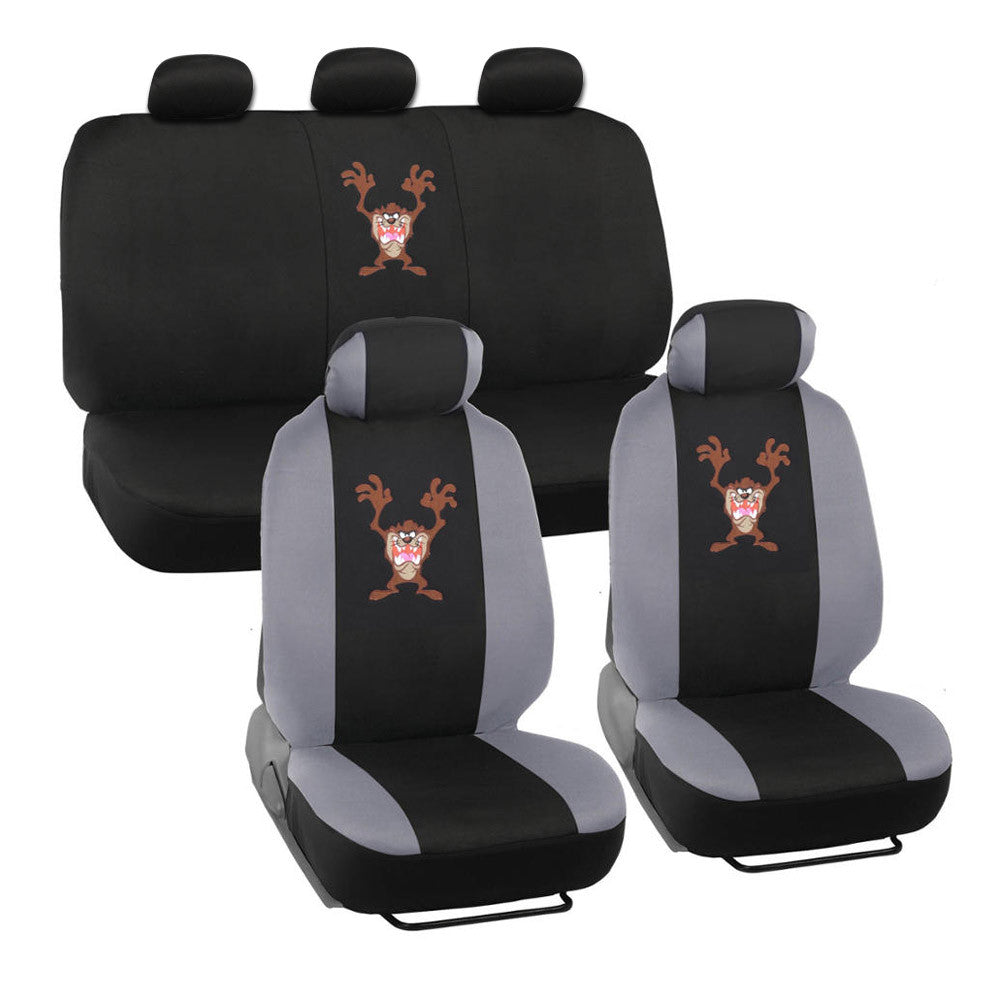 Taz Looney Tunes Universal Warner Bros Seat Covers