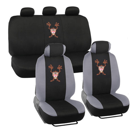 Looney Tunes Taz Seat Covers