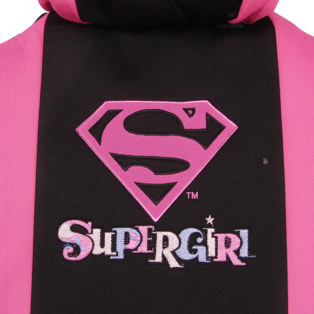 Pink Supergirl Universal Fit 9pc Seat Covers