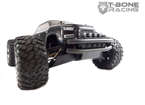 T-BONE RACING XV4 FRONT BUMPER WITH LED LIGHTS FOR ARRMA BIG ROCK - Fast Lap Hobby