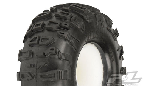"PRO-LINE CHISEL 2.2"" G8 ROCK TERRAIN TRUCK TIRES WITH MEMORY FOAM , Crawler tires - Pro-Line, Fastlaphobby.com LLC"