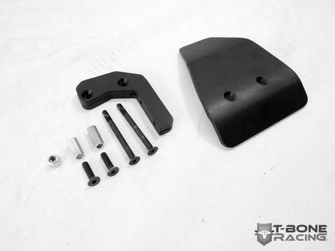 T-BONE RACING REAR DIFFERENTIAL SKID PLATE FOR AXIAL WRAITH SPAWN , Rear skid - T-Bone Racing, Fastlaphobby.com LLC  - 1