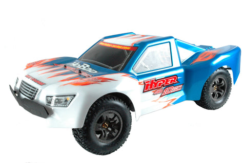 HABAO HYPER 10SC-e 1/10 ELECTRIC SHORT COURSE TRUCK - RTR - BLUE , SCT Kits - Habao, Fastlaphobby.com LLC  - 1