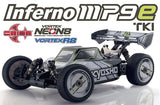 INFERNO MP9e TKI T1 WHITE/BLACK 1/8 EP 4WD READYSET WITH KT-331P , 1/8 Buggy Kit - Kyosho, Fastlaphobby.com LLC  - 1