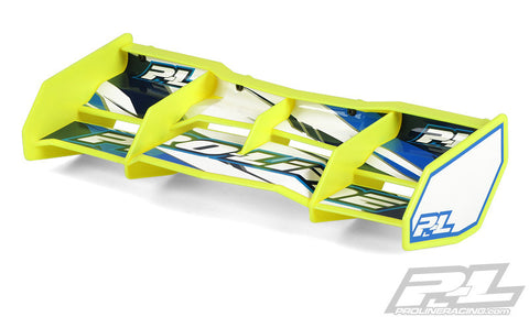 PRO-LINE TRIFECTA WING FOR 1/8 BUGGY OR TRUGGY - YELLOW , Rear wing - Pro-Line, Fastlaphobby.com LLC  - 1