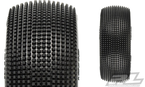 PRO-LINE FUGITIVE X2 (MEDIUM) OFF-ROAD 1:8 BUGGY TIRES (2) FOR FRONT OR REAR , 1/8 buggy tires - Pro-Line, Fastlaphobby.com LLC  - 1