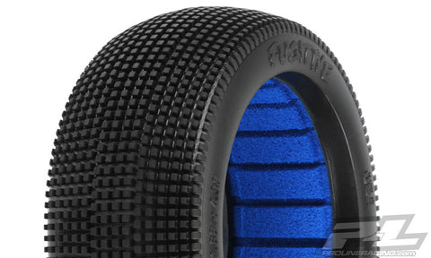 PROLINE RACING FUGITIVE X3 (SOFT) OFF-ROAD 1:8 BUGGY TIRES (2) FOR FRONT OR REAR , 1/8 buggy tires - Pro-Line, Fastlaphobby.com LLC  - 1