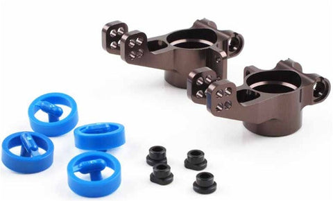 KYOSHO ALUMINUM REAR HUB 2MM OFFSET FOR INFERNO MP9 , rear hubs - Kyosho, Fastlaphobby.com LLC