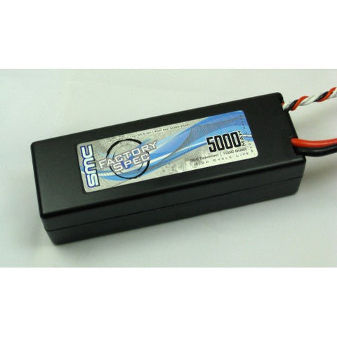 SMC FACTORY SPEC 11.1V 5000mAh 50C LIPO BATTERY W/ TRAXXAS CONNECTOR , LIPO Batteries - SMC, Fastlaphobby.com LLC  - 1