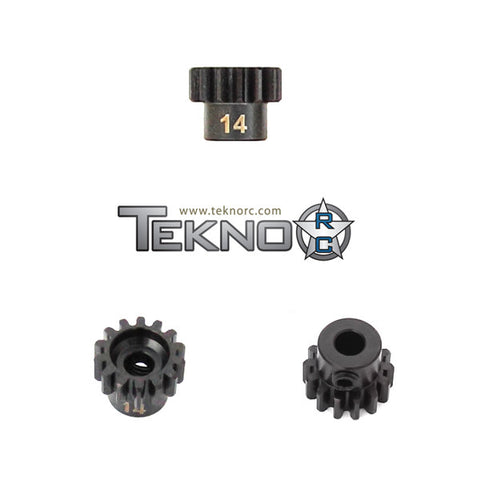 TEKNO RC M5 PINION GEAR 14T (MOD1, 5MM BORE, M5 SET SCREW) , pinions - Tekno, Fastlaphobby.com LLC