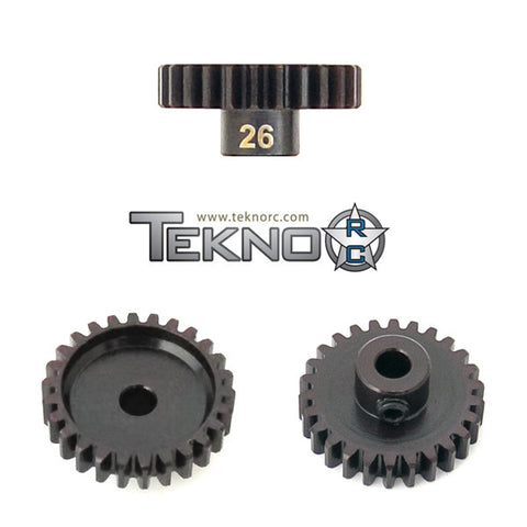 TEKNO RC M5 PINION GEAR 26T (MOD1, 5MM BORE, M5 SET SCREW) , pinions - Tekno, Fastlaphobby.com LLC