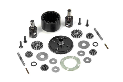 TEAM X-RAY COMPLETE DIFFERENTIAL FOR XB8 , Differential - Xray, Fastlaphobby.com LLC