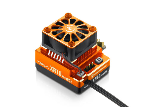 HOBBYWING XR10 PRO BRUSHLESS SPEED CONTROLLER - ORANGE , Speed Controller - Hobbywing, Fastlaphobby.com LLC  - 1