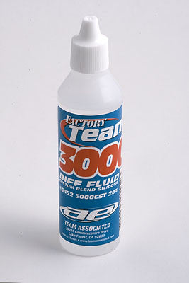TEAM ASSOCIATED FACTORY TEAM SILICONE DIFF FLUID 3000CST , Diff Oil - Team Associated, Fastlaphobby.com LLC