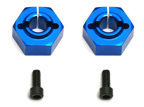 TEAM ASSOCIATED 12MM ALUMINUM CLAMPING WHEEL HEX, BUGGY REAR (B4.1/B44.1) , Wheel Hex - Team Associated, Fastlaphobby.com LLC