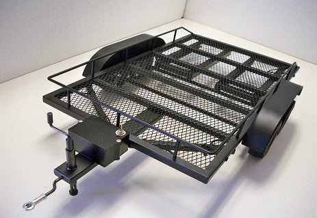 FMT FULL METAL DUAL AXLE TRAILER FOR 1/10 SCALE RC TRUCKS , Scale Trailer - FMT, Fastlaphobby.com LLC  - 1