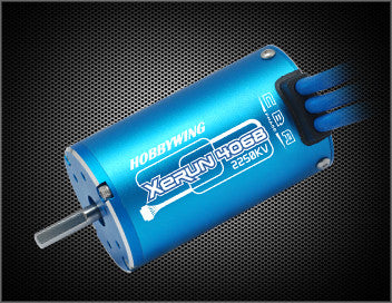 HOBBYWING XERUN 4068SD SENSORED BLUE EDITION 2250KV 1/8TH SCALE BRUSHLESS MOTOR , Electric motor - Hobbywing, Fastlaphobby.com LLC