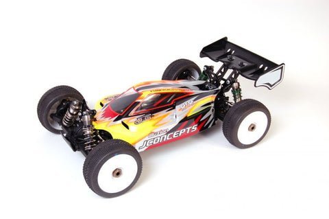 JCONCEPTS ILLUZION BODY FOR LOSI 8IGHT-E 2.0 , 1/8 Buggy body - JConcepts, Fastlaphobby.com LLC