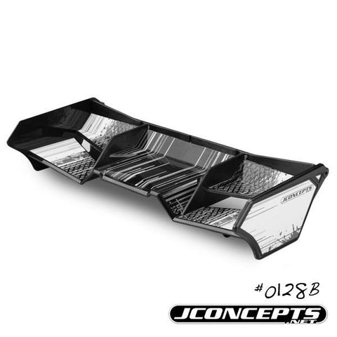 JCONCEPTS 1/8TH BUGGY/TRUCK WING - BLACK , 1/8 buggy wing - JConcepts, Fastlaphobby.com LLC