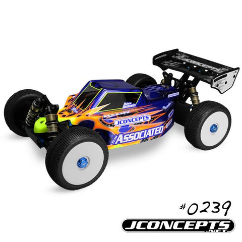 JCONCEPTS ILLUZION - TEAM ASSOCIATED RC8.2E - FINNISHER BODY , 1/8 Buggy body - JConcepts, Fastlaphobby.com LLC