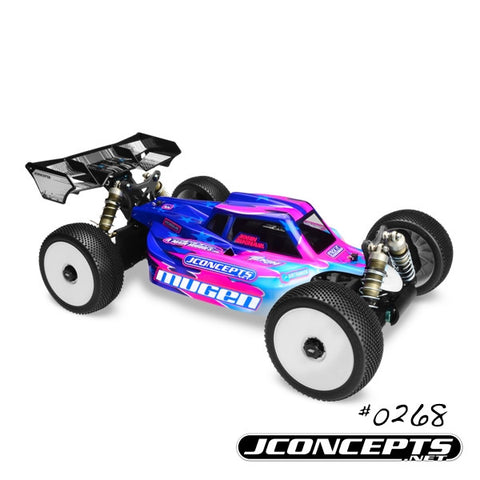 JCONEPTS SILENCER – 1/8 MUGEN MBX-7 ECO BODY , 1/8 Buggy body - JConcepts, Fastlaphobby.com LLC
