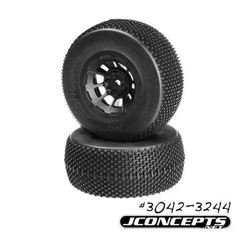 JCONCEPTS SUBCULTURES - HAZARD WHEEL - TRAXXAS SLASH 2WD REAR, 4X4 F&R PRE-MOUNTED , Short Course Wheels & Tires - JConcepts, Fastlaphobby.com LLC