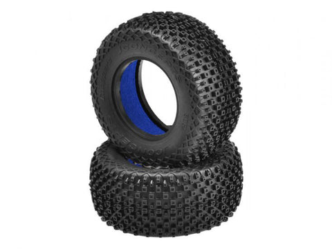 "JCONCEPTS CHOPPERS - BLUE COMPOUND - (FITS SCT 3.0"" X 2.2"" WHEEL) , Short Course Tires - JConcepts, Fastlaphobby.com LLC"