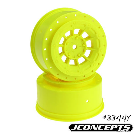 JCONCEPTS HAZARD - SC10/SC10 4X4 - 3MM WIDER OFF-SET - 12MM HEX WHEEL , SCT wheels - JConcepts, Fastlaphobby.com LLC