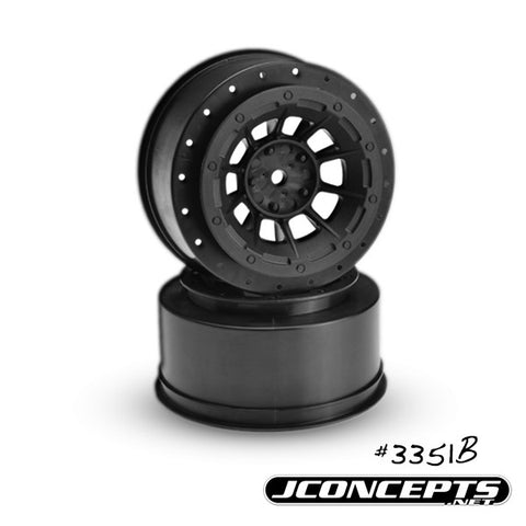 JCONCEPTS HAZARD - SLASH REAR, SLASH 4X4 FRONT & REAR WHEEL - 2PC , SCT wheels - JConcepts, Fastlaphobby.com LLC  - 1