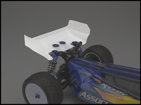 JCONCEPTS AERO FOR ASSOCIATED B6 OR B6D REAR WING (SHORT) , Rear wing - JConcepts, Fastlaphobby.com LLC