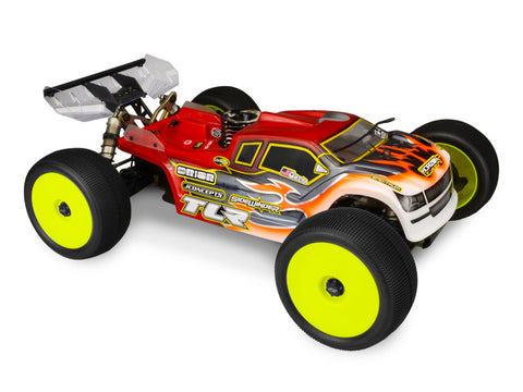 J CONCEPTS FINNISHER TRUGGY BODY FOR TLR 8IGHT-T 4.0 , Truggy Body - JConcepts, Fastlaphobby.com LLC  - 1