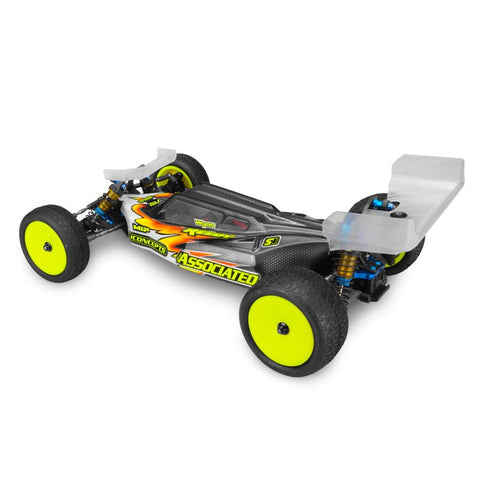 J CONCEPTS S2 - B6 | B6D BODY W/ AERO WING , 1/10 Buggy Body - JConcepts, Fastlaphobby.com LLC  - 1