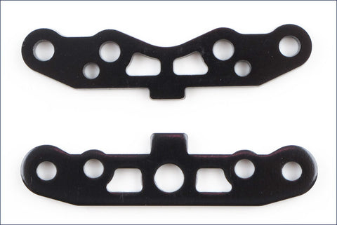 KYOSHO INFERNO SUSPENSION PLATE SET BLACK , suspension plate - Kyosho, Fastlaphobby.com LLC