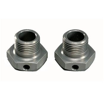 MUGEN WIDE OFFSET WHEEL HUBS (1MM) (2PCS) : X6, X6E, X6R, X6R US , Wheel hubs - Mugen Seiki, Fastlaphobby.com LLC