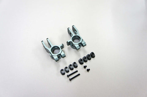 MUGEN SEIKI ALUMINUM REAR HUB CARRIER SET W / INSERTS FOR MBX-7 , Hub Carriers - Mugen Seiki, Fastlaphobby.com LLC