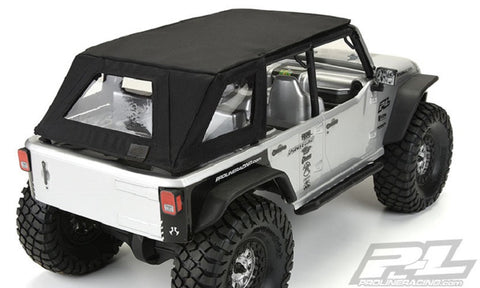 PRO-LINE RACING TIMBERLINE SOFT-TOP FOR AXIAL SCX10 , Scale roof - Pro-Line, Fastlaphobby.com LLC