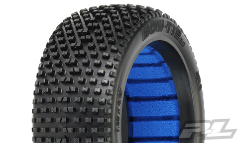 Pro Line BOW TIE 2.0 X4 SUPER SOFT OFF ROAD 1/8 BUGGY TIRES -2 F/R , 1/8 buggy tires - Pro-Line, Fastlaphobby.com LLC  - 1